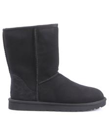 Ugg Womens Black Classic Short Boot