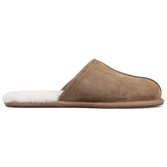 Ugg Mens Brown Chestnut Scuff Slipper main image