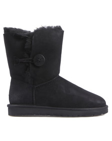 Ugg Womens Black Bailey Button