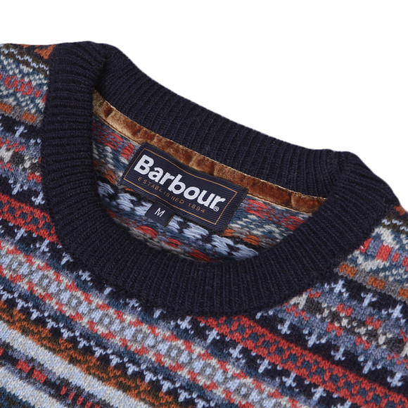 Barbour Lifestyle Barbour Martingale Crew Fair Isle Jumper ...