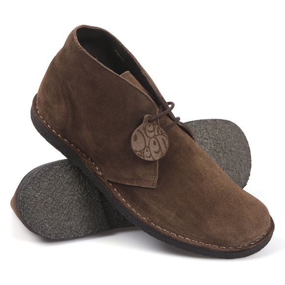 Pretty Green Mens Brown Desert Boot main image