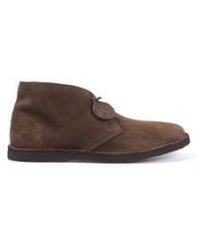 Pretty Green Mens Brown Desert Boot