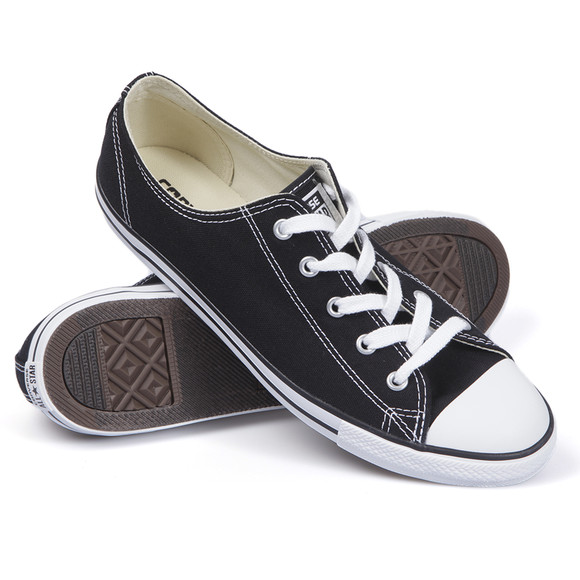Converse Womens Black CT AS Dainty OX Trainer main image