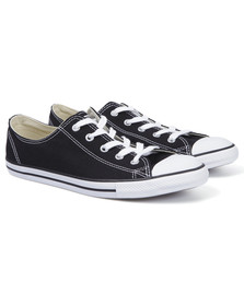 Converse Womens Black CT AS Dainty OX Trainer