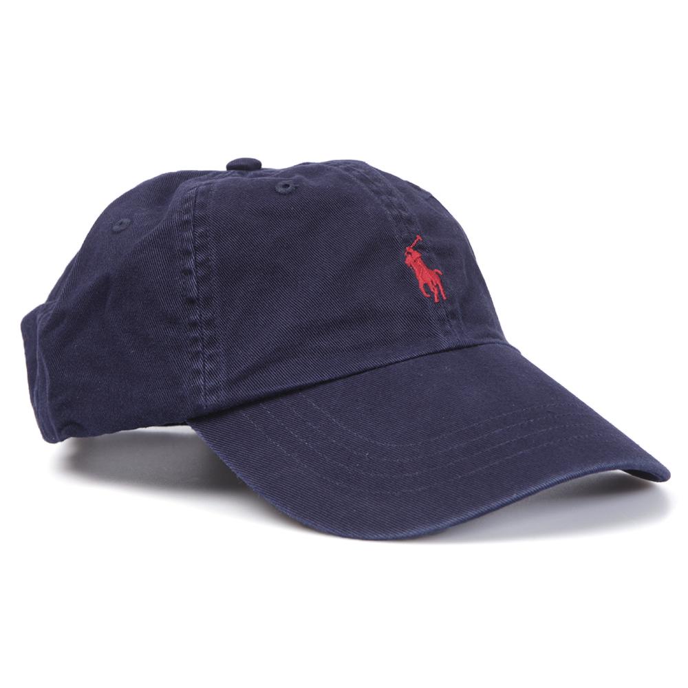 Polo Ralph Lauren Ralph Lauren Navy Red Classic Sport Cap  8f1e423f2fe6