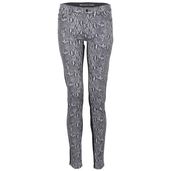 michael kors jet set print front skinny jean