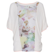 ted baker jara nude pink electric day dream jumper