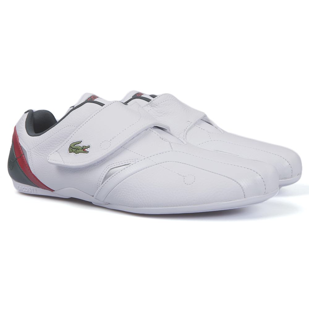 38b0d30ee9ce Lacoste Sport Mens White Lacoste Protect White Silver Trainer main image.  Loading zoom
