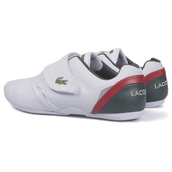 032117355 Lacoste Sport Mens White Lacoste Protect White Silver Trainer main image
