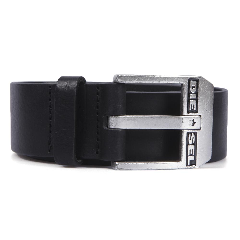 Diesel Bluestar Black and Silver Belt main image