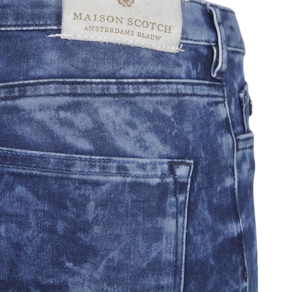 Maison Scotch Womens Blue Le Voyage Velvet Trouser main image