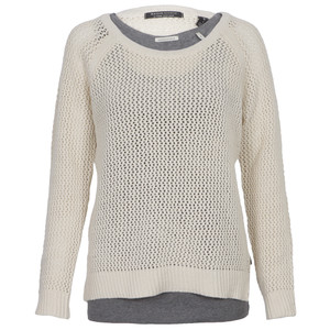 maison scotch mesh knit with tank