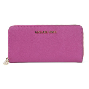 michael kors jet set zip purse