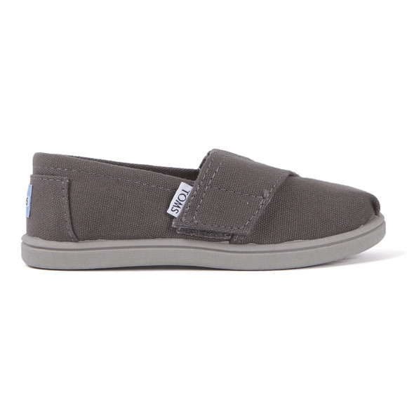 Toms Boys Grey Toms Youth Classic Canvas main image