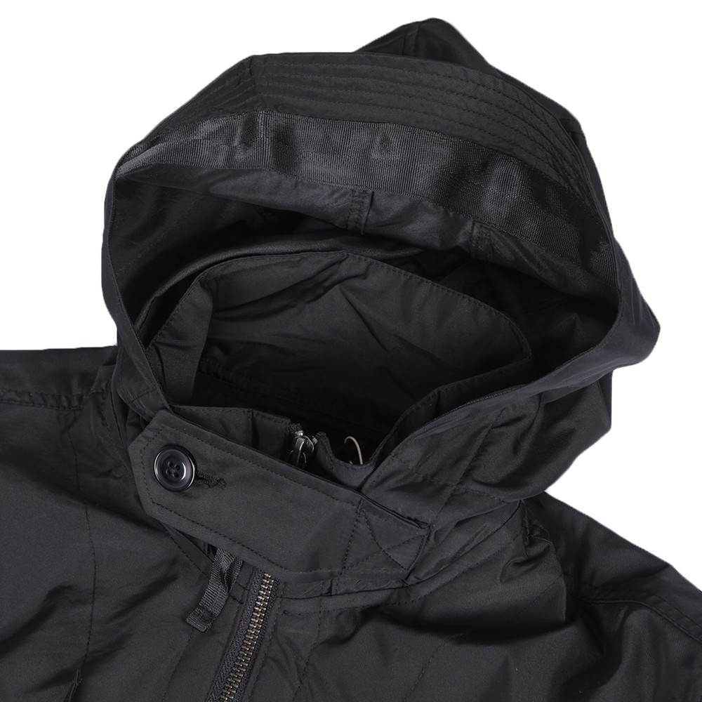 Pretty Green Felton Hooded Black Jacket main image 3e79f8c55fce