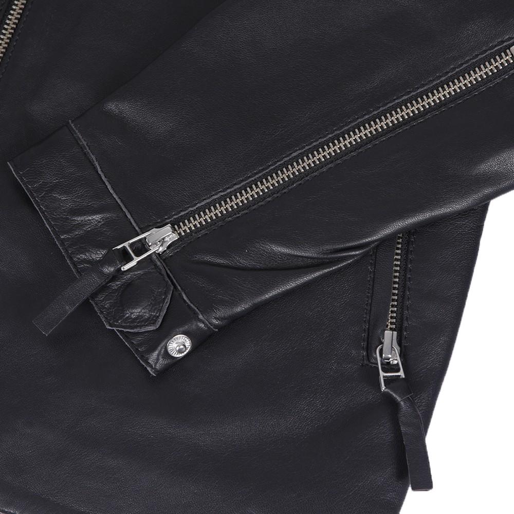 Addison Leather Biker Jacket main image