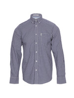 Ben Sherman MA00751 Blue Depth Gingham Shirt