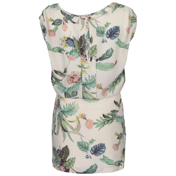 Maison Scotch Womens Pink Botanical Print Dress main image