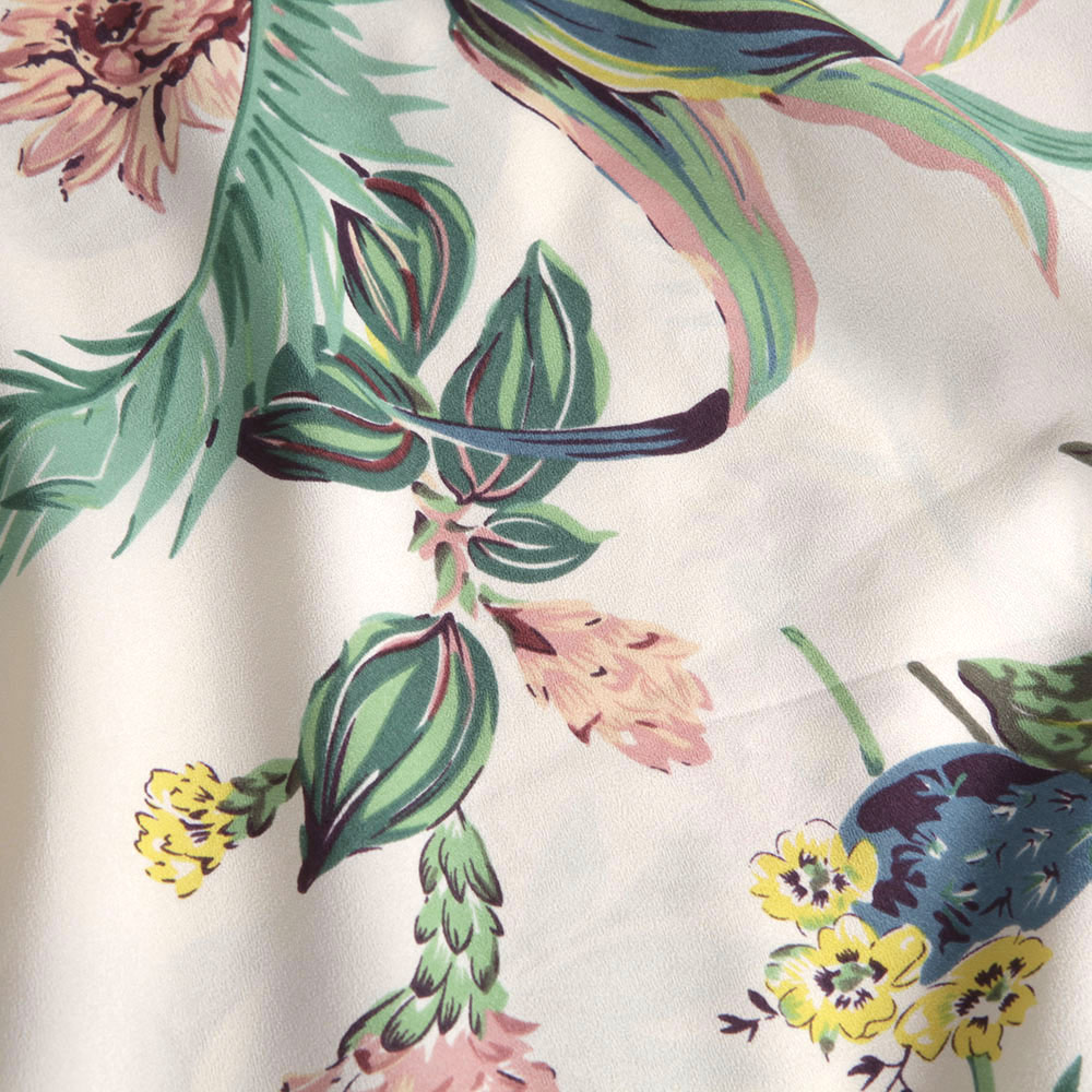 Botanical Print Dress main image