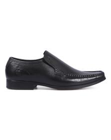 Base London Mens Black Carnoustie Slip On Shoes