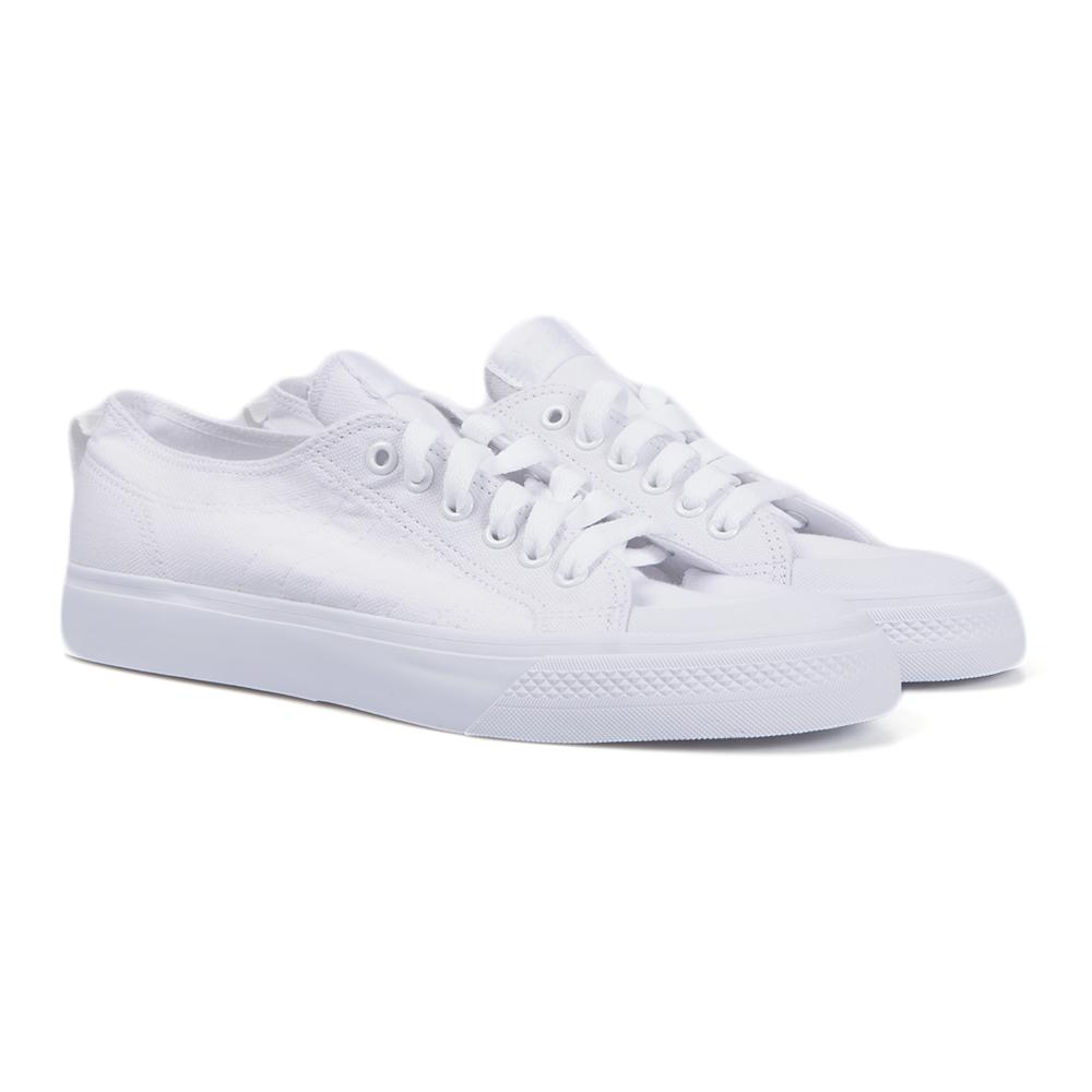 mens white nizza trainers