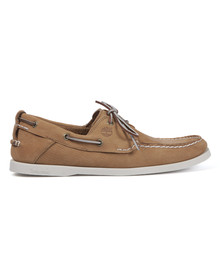 Timberland Mens Brown Earthkeepers Heritage 2 Eye Boat Shoe