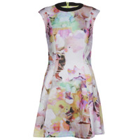 ted baker jeneyy electric day dream dress