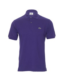 Lacoste Mens Purple L1212 Hibiscus Plain Polo Shirt