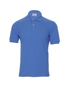 Lacoste Mens Blue L1212 Naufrage Plain Polo Shirt