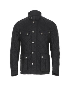 Barbour International Mens Black Ariel Quilted Jacket