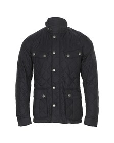 Barbour International Mens Blue Ariel Quilted Jacket