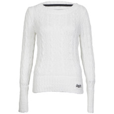 superdry croyde summer cable crew jumper