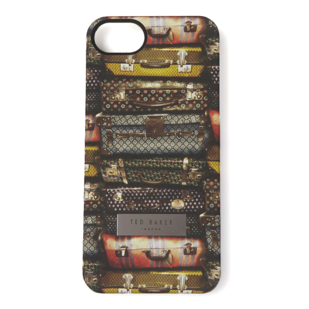 6f625ae58340a Ted Baker Suitcase Print Phone Case main image