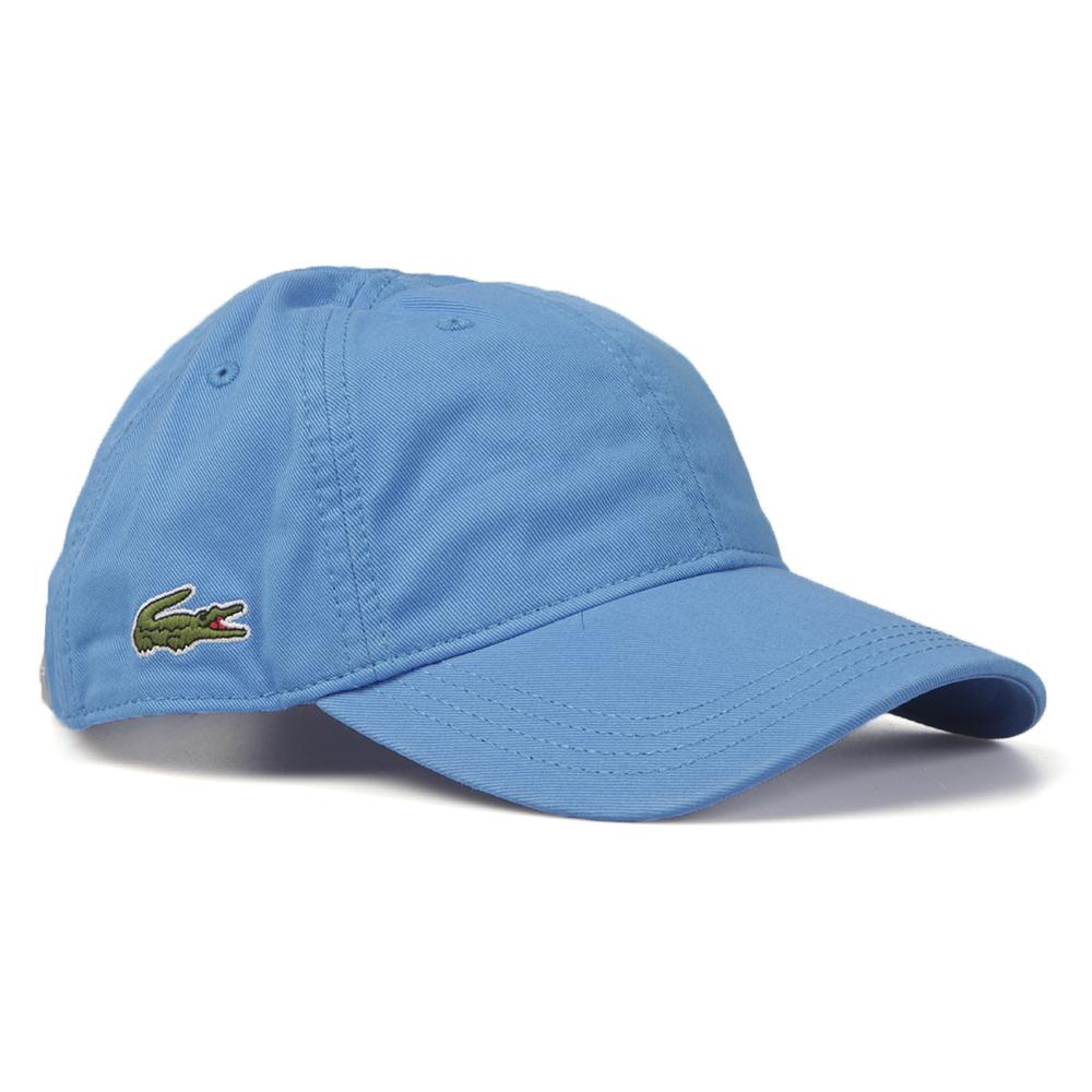 f6174e965da Lacoste Sport Mens Blue RK9811 Logo Cap