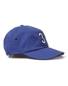 Hackett Mens Blue Hackett Numbers Baseball Cap