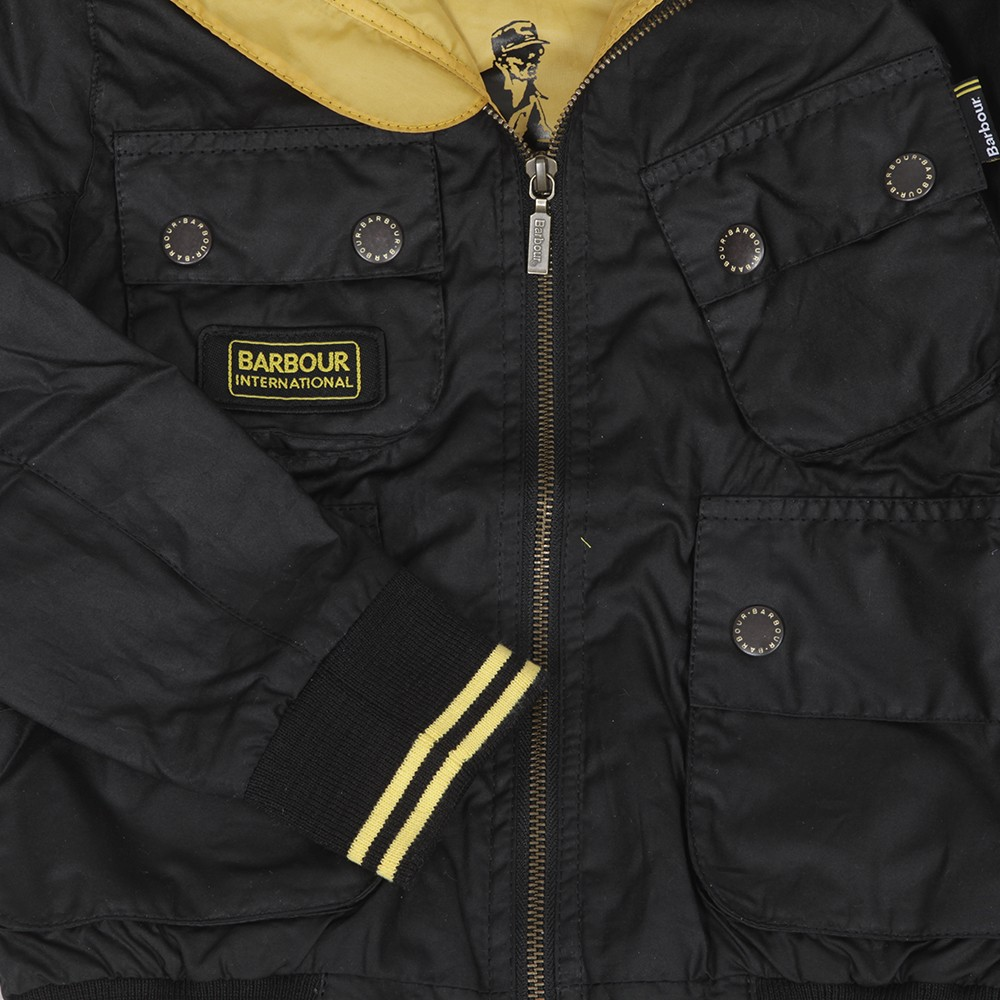 Barbour Boys Glanton Waxed Jacket main image