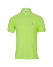 Lacoste Mens Green L1212 Amandine Plain Polo Shirt