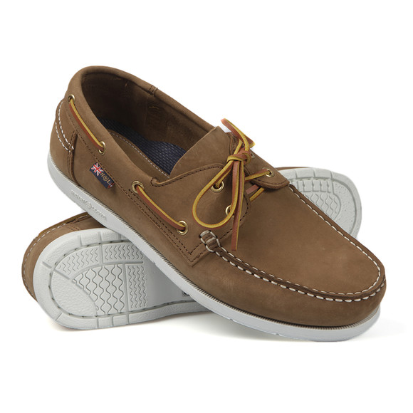 9b8692d6034be Henri Lloyd Mens Brown Arkansa Boat Shoe main image