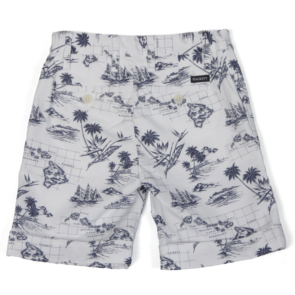 Hackett Boys Hawaiian Print Short main image