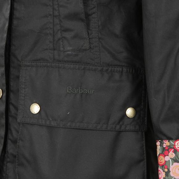 Barbour Lifestyle Womens Green Hope Beadnell Wax Jacket main image