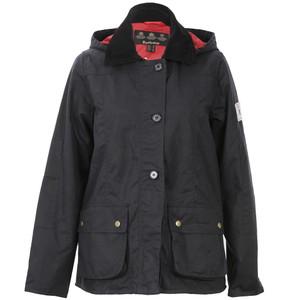 barbour shore wax jacket