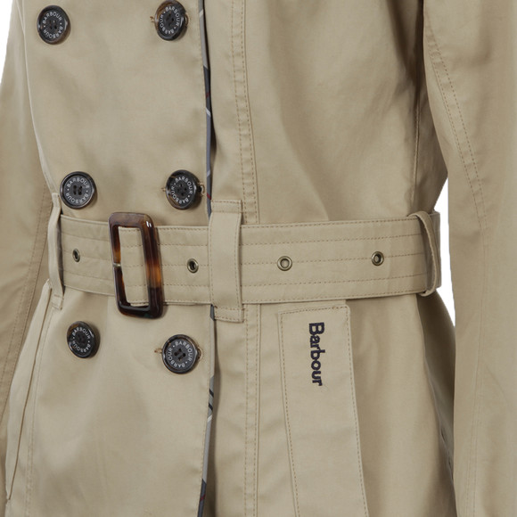 Barbour Lifestyle Womens Blue Sycamore Trench Coat main image