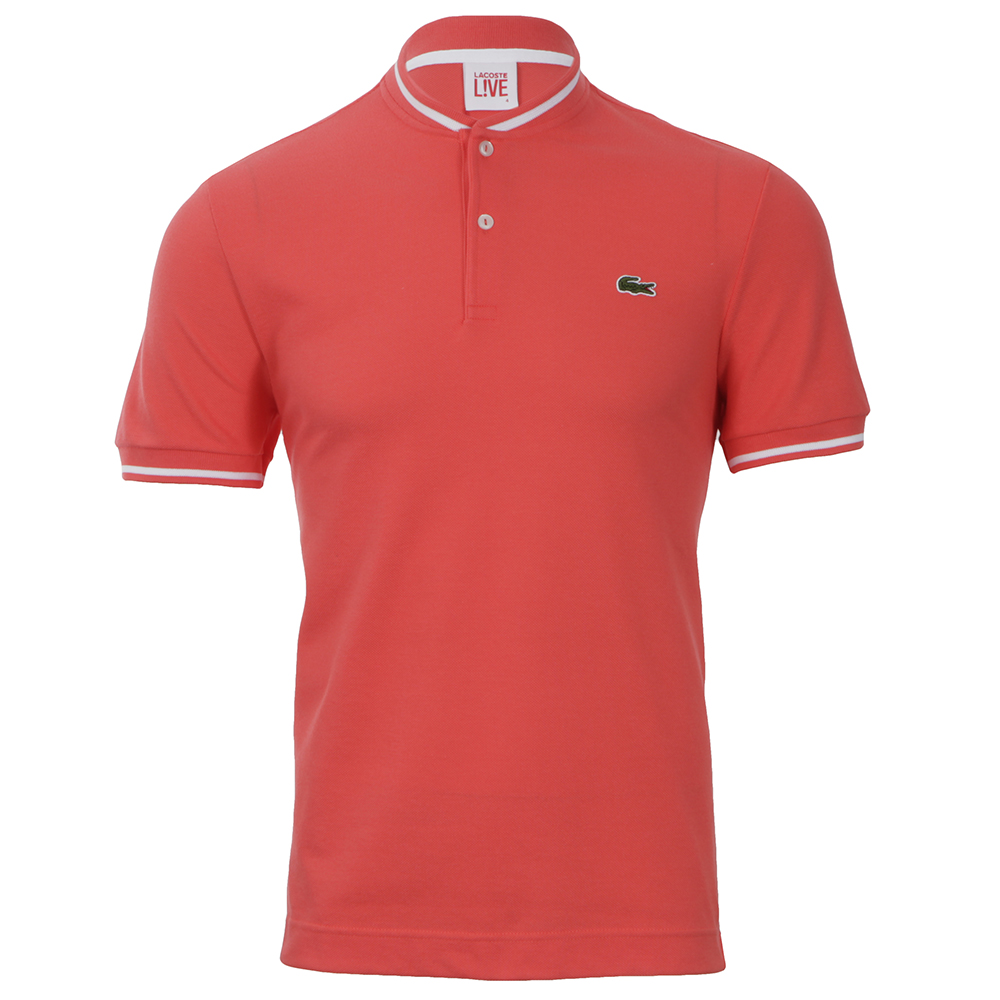 b5d3cb58 Lacoste Live Lacoste PH8224 Santal Collarless Polo | Oxygen Clothing