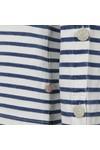 Maison Scotch Womens Blue Breton Stripe Top