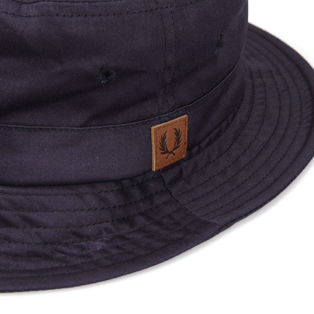 3cfc3da61f0 Fred Perry Carbon Blue Classic Bucket Hat main image