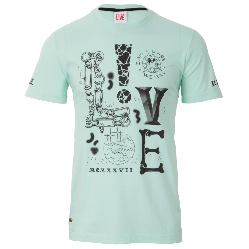9e5c169988 Lacoste Live Moorea T-Shirt TH9550 | Oxygen Clothing