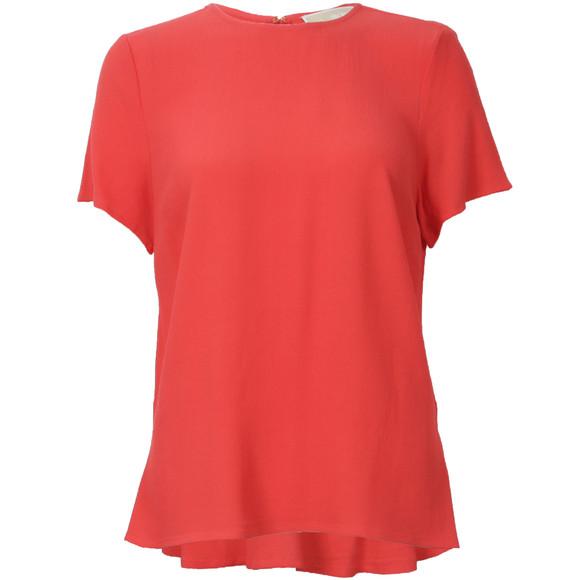 Michael Kors Womens Pink Peplum Back T Shirt main image
