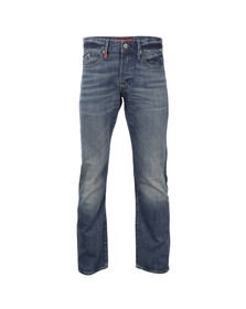 Replay Mens Blue Waitom Regular Slim Jean