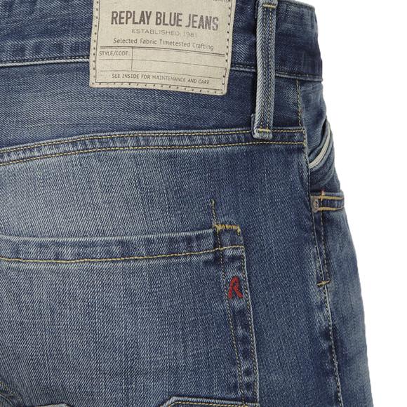Replay Mens Blue Waitom Regular Slim Jean main image