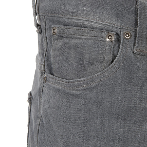 Nudie Jeans Mens Grey Thin Finn Lighter Shade Dry Stretch Jean main image